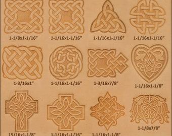 Craftool Celtic Leathercraft stamp set