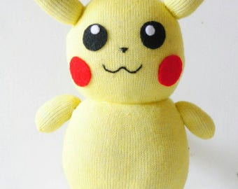 Pikachu Sock Doll