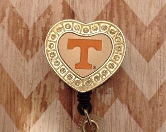Tennessee retractable badge reel