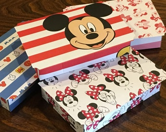 Mickey & Minnie Party Favor Boxes - Disney Party Favors