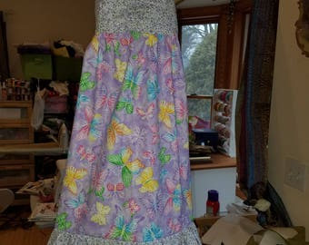Pretty girls butterfly dress size 4