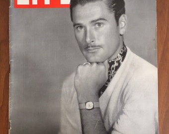 Life Magazine 1938/Errol Flynn