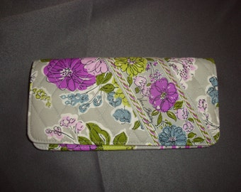 NEW Vera Bradley Watercolor Travel Wallet