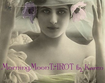 SHADOW TAROT READING Bohemian Gothic Cards outlook insight Career Love relationship money creativity spritual guidance perspective Intuitive