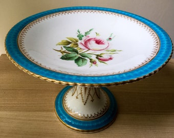 Vintage Handpainted China Cake Stand