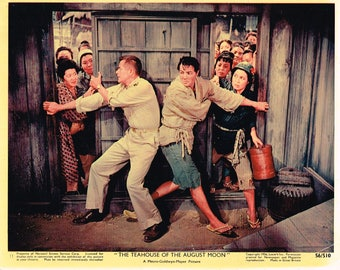 The Teahouse Of The August Moon - 1956 - Original color movie still