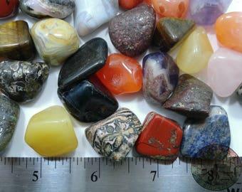 Natural Tumbled Mix stones