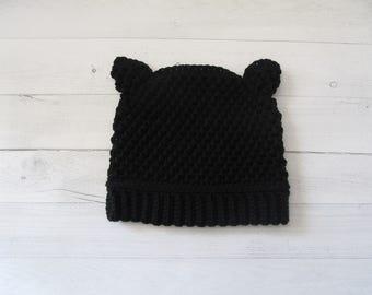 Textured Cat Hat
