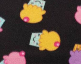 Happy Cupcakes Fleece Tied Blanket