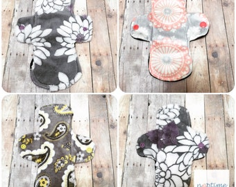 Menstral Reusabel Pads, Mama Cloth, Washable Cloth Pad, Pantyliner, Overnight Pad, Heavy