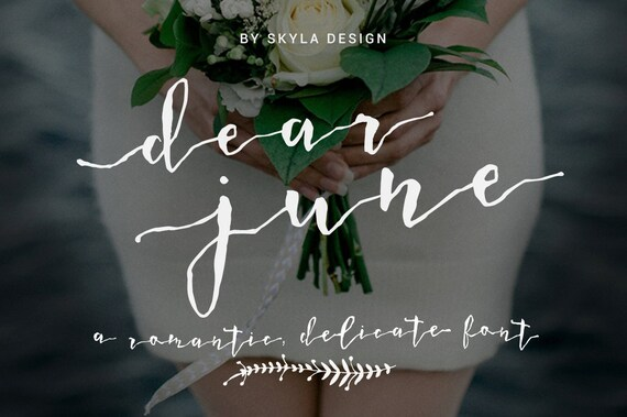 Wedding font download modern calligraphy typeface