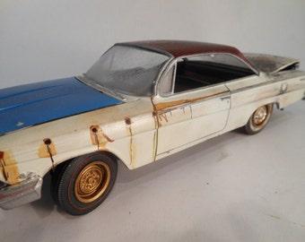 ModelCar,RustedWreck,OldSchool,Chevrolet,JunkYardClassic