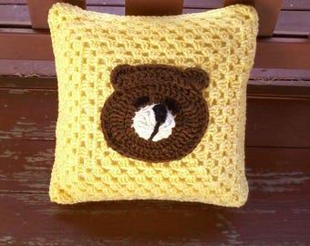Baby pillow Teddy bear pillow Sleepy time pillow Sleepy bear pillow Toddler pillow Sleepy bear pillow