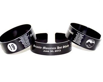 Granite Mountain Hot Shots Memorial Bracelet.