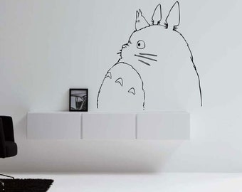More Colors. Totoro Profile VInyl Decal ...