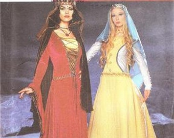 Simplicity 9758 Misses' Medieval Costume Pattern