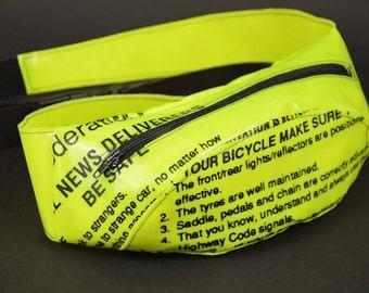 Belt pocket; Hip length taped; Hipbag