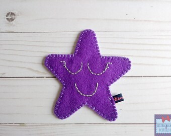 Tooth pouch; Toothfairy pouch. tooth box; felt pouch; case milk teeth. Pocket star; Star tooth pouch