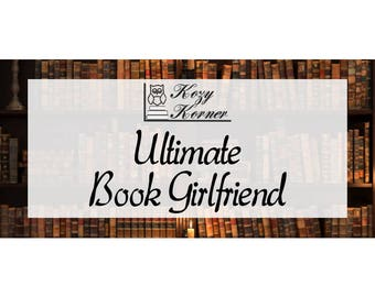 Ultimate Book Girlfriend Handmade Soy New Candle Bookish
