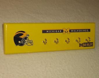 Michigan Wolverines key rack