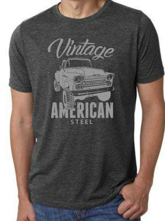 Chevy Truck T Shirt Vintage Chevy Apache 1958