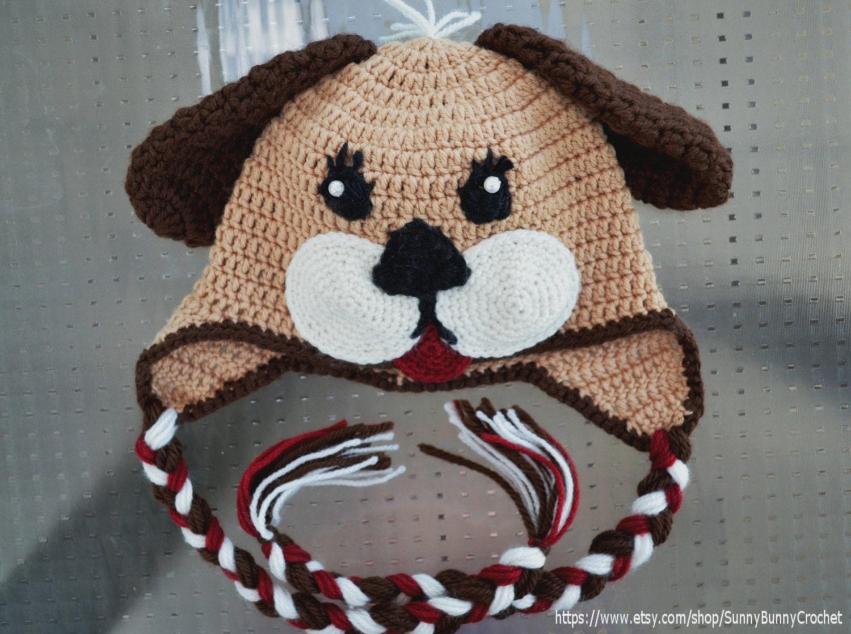 Crochet hat pattern baby animal hat puppy hat pattern zoom bankloansurffo Gallery
