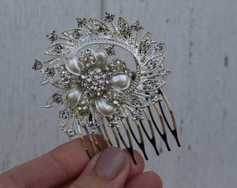 Shabby Chic Bridal Comb