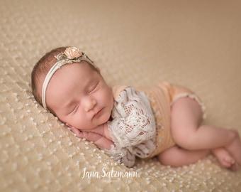 Newborn props, baby photography, girls, newborns game suit photography props, baby girl clothes, Baby, Boho, band