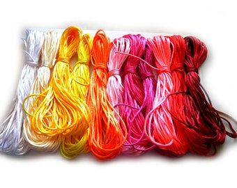 10 Yards of 2mm Thick Satin Rattail Cord