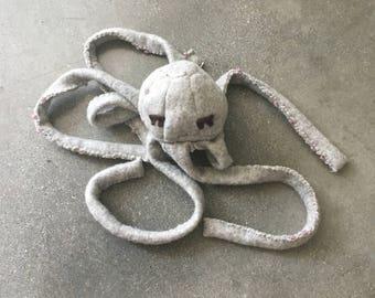 Elke the JellySquid: Soft Sculpture Stuffed Animal