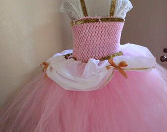 Cinderella Dress- Disney Princess Dress - Cindrella Pink Princess Costume - Princess Dress