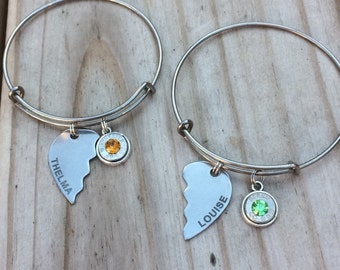Thelma and Louise bullet bangle set