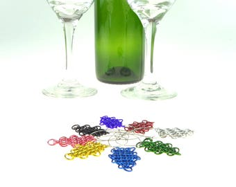 Handmade Wine Glass Charms Perfect For A Renaissance Wedding