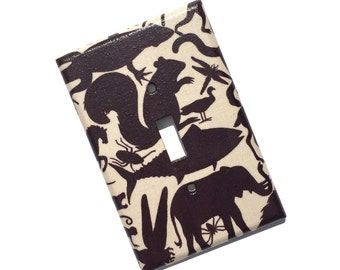 Animal Kingdom Light Switch Plate Cover