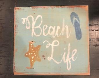 Beach life shelf sitter