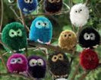 Owl Family Knitting Pattern