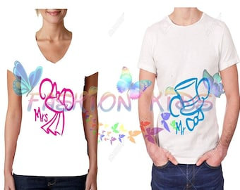Duo-Paired T-shirt (Miki and mini 2)