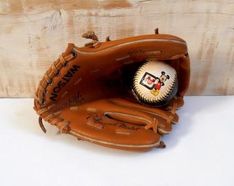 Kids baseball glove and ball 40 Disney world collector