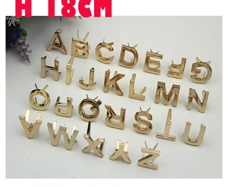 6--100pcs  17-18mm Light gold  Metal bags DECORATIVE Capital with prong   , bag purse decorative hardware findings wholesale KS-558