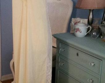 Pastel Dreams - Vintage Nightgown