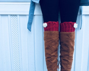 Any day boot cuffs!