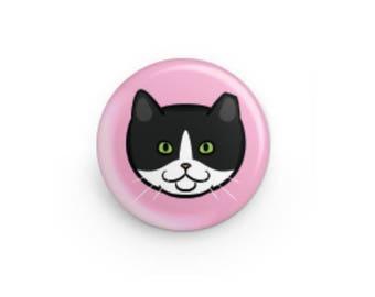 Feral Cat Button - Star