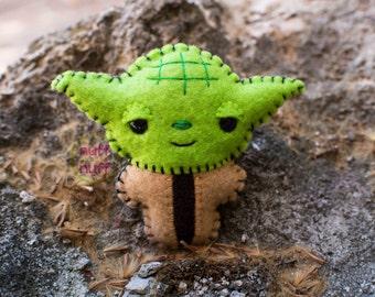 Felt Yoda - Pocket Plush toy