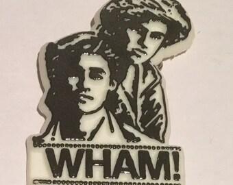Vintage Wham Badge