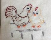 Vintage Puppies Chickens ...