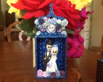 Day of the Dead Wedding Nicho/Shrine