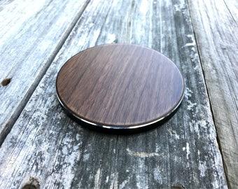 Wireless Charging Station (Circle) - Wood