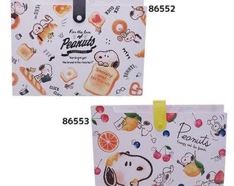Snoopy A4 File Folder Organizer with 6 Pockets Accordion Style Price depends on order volume.