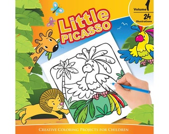 Little Picasso Vol. 1 (Creative Coloring Projects for Children)