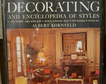 the Doubleday Book of Interior Decorating 1965